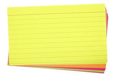 How to make essay note cards